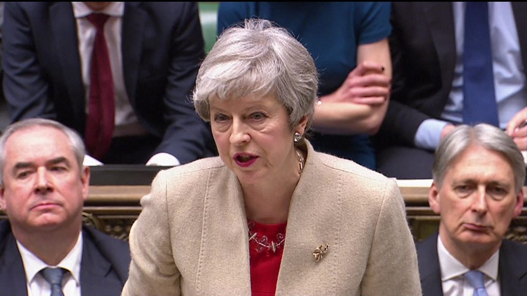 MPs reject the Government's EU Withdrawal Agreement and Brexit is delayed – potentially until 31 October 2019