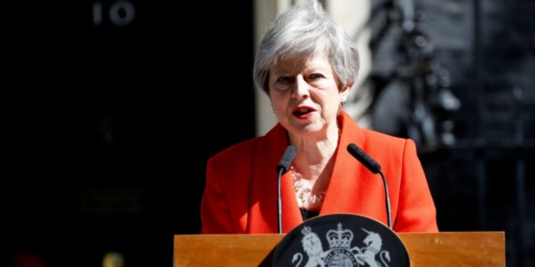 Theresa May resigns as Prime Minister of the United Kingdom