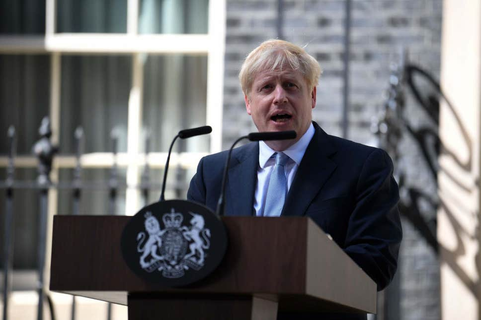Boris Johnson becomes Prime Minister of the United Kingdom