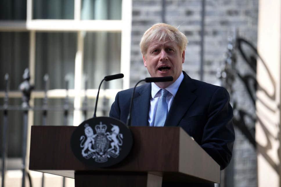 Boris Johnson becomes Prime Minister of the United Kingdom
