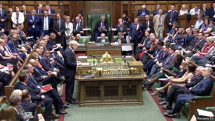 Boris Johnson prorogues Parliament