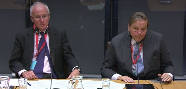 Evidence to the Constitutional and Legislative Affairs Committee at the Welsh Assembly